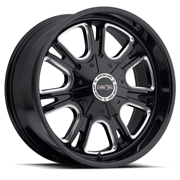 Vision Off-Road 3992 Storm Black Machined